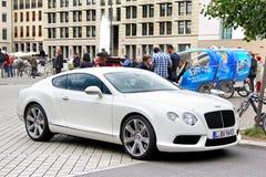 Bentley Continentaal GT stock afbeelding