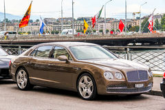Bentley Continental Flying Spur Stock Images