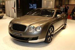 The Bentley Continental GT Royalty Free Stock Photography