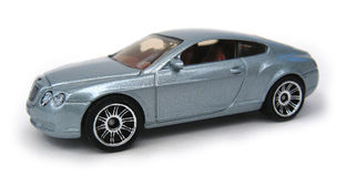 Bentley Continental GT 2006. 2006 Bentley Continental GT, Matchbox 2007 #1, pkg ID K7477 Stock Photo