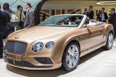 2015 Bentley Continental GT Convertible Stock Photo