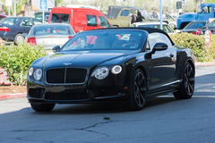 Bentley Continental GT Convertible Royalty Free Stock Images