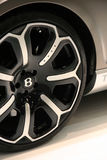 Bentley Continental GT Heritage wheel detail Stock Images