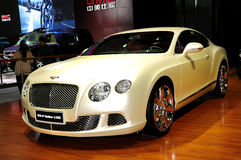 Bentley Continental GT Mulliner Royalty Free Stock Photography