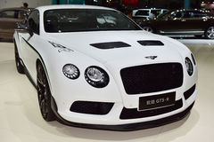The Bentley Continental GT3-R car Stock Photography