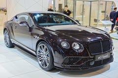 Bentley Continental GT rusar bilen Royaltyfri Fotografi