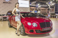 Bentley Continental GT Speed Car Stock Photography
