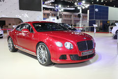 Bentley Continental GT Speed car on disply Stock Photos