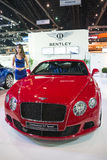 Bentley Continental GT Speed on display Royalty Free Stock Image