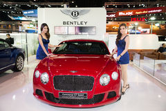 Bentley Continental GT Speed on display Stock Photo