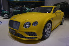 Bentley Continental GT SPEED sports car Royalty Free Stock Images