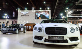 Bentley Continental GT V8. Stock Photo