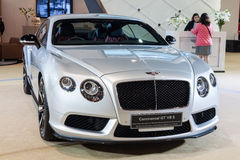 Bentley Continental GT V8 S on display Stock Photo