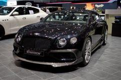 Bentley Continental GT vid Startech på Genève 2017 Royaltyfria Foton