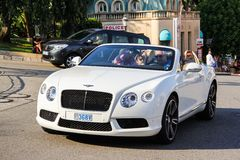 Bentley Continental GTC Royalty Free Stock Photo
