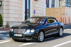 Bentley Continental GTC Royalty Free Stock Photos