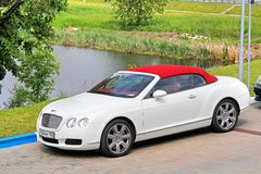 Bentley Continental GTC Royalty Free Stock Images