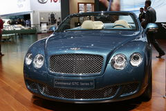 Bentley continental GTC series 5 Royalty Free Stock Photos