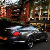 Bentley Continental solides solubles à Londres Photo libre de droits