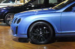 Bentley Continental Super sports car. British famous brand,Bentley,Continental Super sports car, in its exhibition hall,in 2010 international Auto-show GuangZhou Stock Image