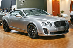 Bentley Continental Supersports. At the Moscow International Automobile Salon (MIAS-2010) August 25 - September 5 Royalty Free Stock Photos