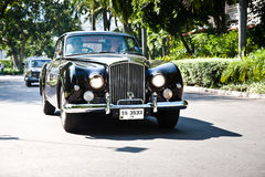 Bentley Continental on Vintage Car Parade Royalty Free Stock Photos