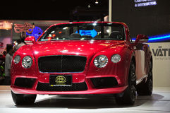 Bentley convertible at International Motor Expo Stock Images
