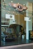 Bentley dealership on Friedrichstrasse Stock Photos