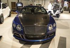 Bentley. Dubai, UAE - NOVEMBER-14-2011: Bentley  on display at the Dubai Motor Show, UAE Stock Images