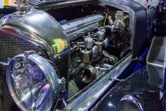 Vintage car. Bentley engine. Stock Photo