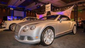Bentley Exhibit Royalty Free Stock Image