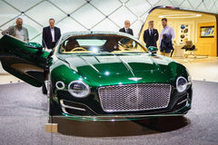 Bentley EXP 10, Motor Show Geneve 2015. Royalty Free Stock Image