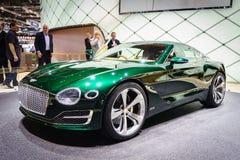Bentley EXP 10, motorisk show Geneve 2015 Fotografering för Bildbyråer
