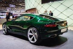 Bentley EXP 10, motorisk show Geneve 2015 Royaltyfri Fotografi