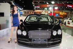 Bentley Flying Spur on display Stock Photo