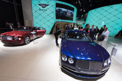 Bentley Flying Spur Royalty Free Stock Photos