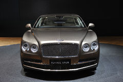 Bentley flying spur front Stock Photography