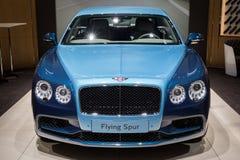 Bentley Flying Spur-luxeauto Stock Afbeeldingen