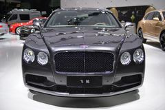 Bentley Flying Spur supercar Royalty Free Stock Photos