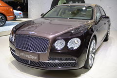 Bentley Flying Spur supercar Stock Image