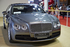 Bentley Flying Spur V8 car on display at The 36 th Bangkok Inter Stock Images