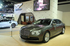 Bentley Flying Spur V8 car Royalty Free Stock Photography