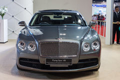 Bentley Flying Spur V8 on display Stock Photo