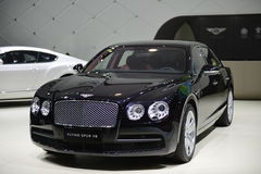 Bentley Flying Spur V8 supercar Stock Image
