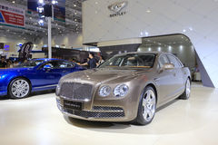 Bentley flying spur w12 car Stock Photography
