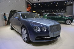 Bentley Flying Spur W12 supercar Stock Image