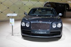 The Bentley FlyingSpur V8 Royalty Free Stock Photo