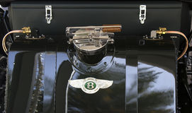 Bentley 1925 fuel tank Stock Photography