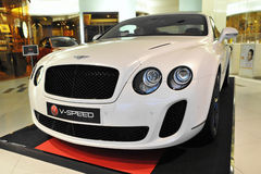 Bentley GT Continental Royalty Free Stock Photo