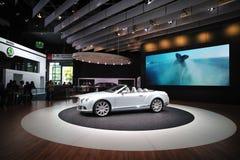 Bentley GT continental en el salón auto Fotografía de archivo